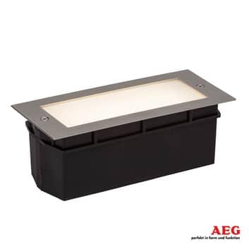 AEG Wall LED-Wandeinbauleuchte m. satiniertem Glas
