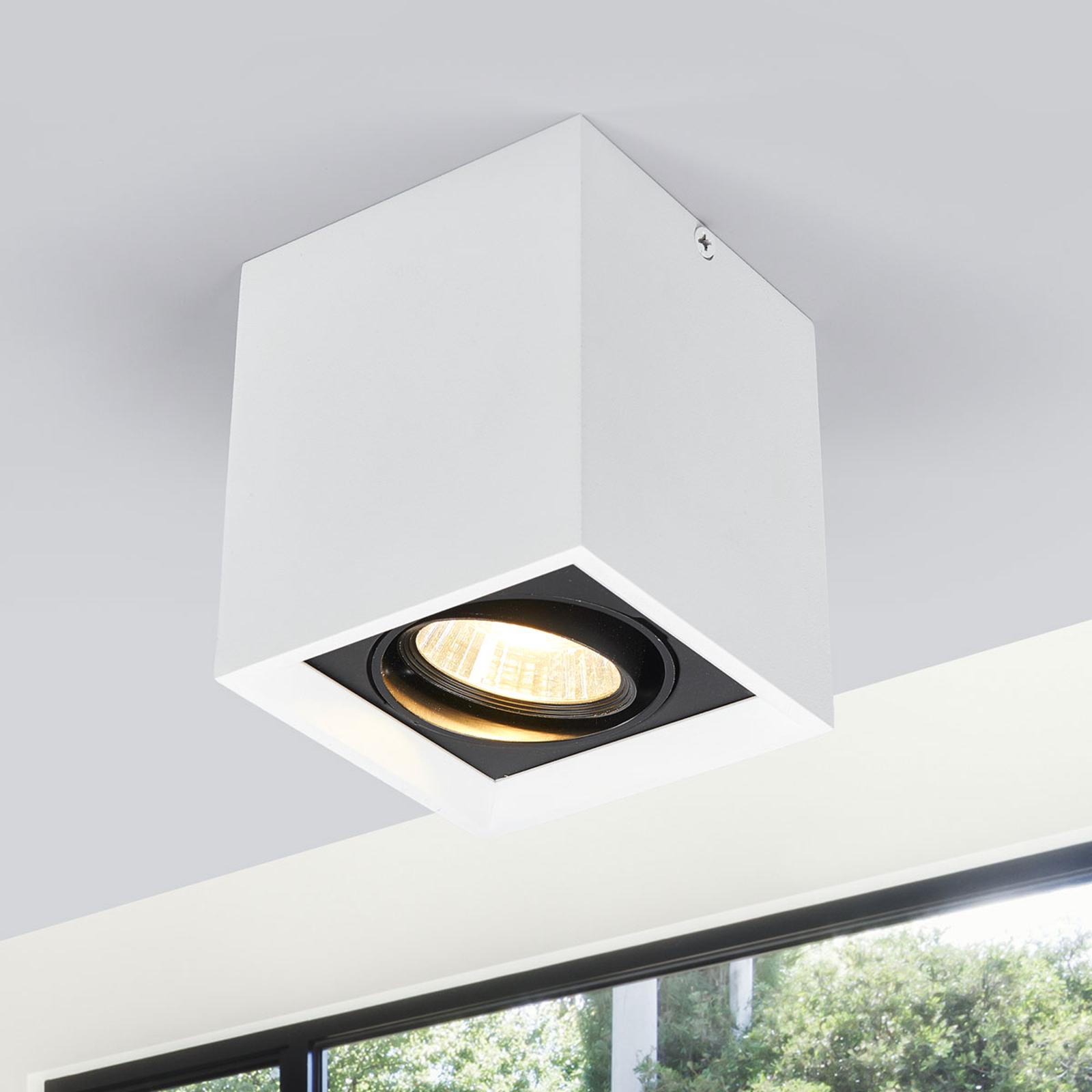 Biała oprawa LED typu downlight Loreen
