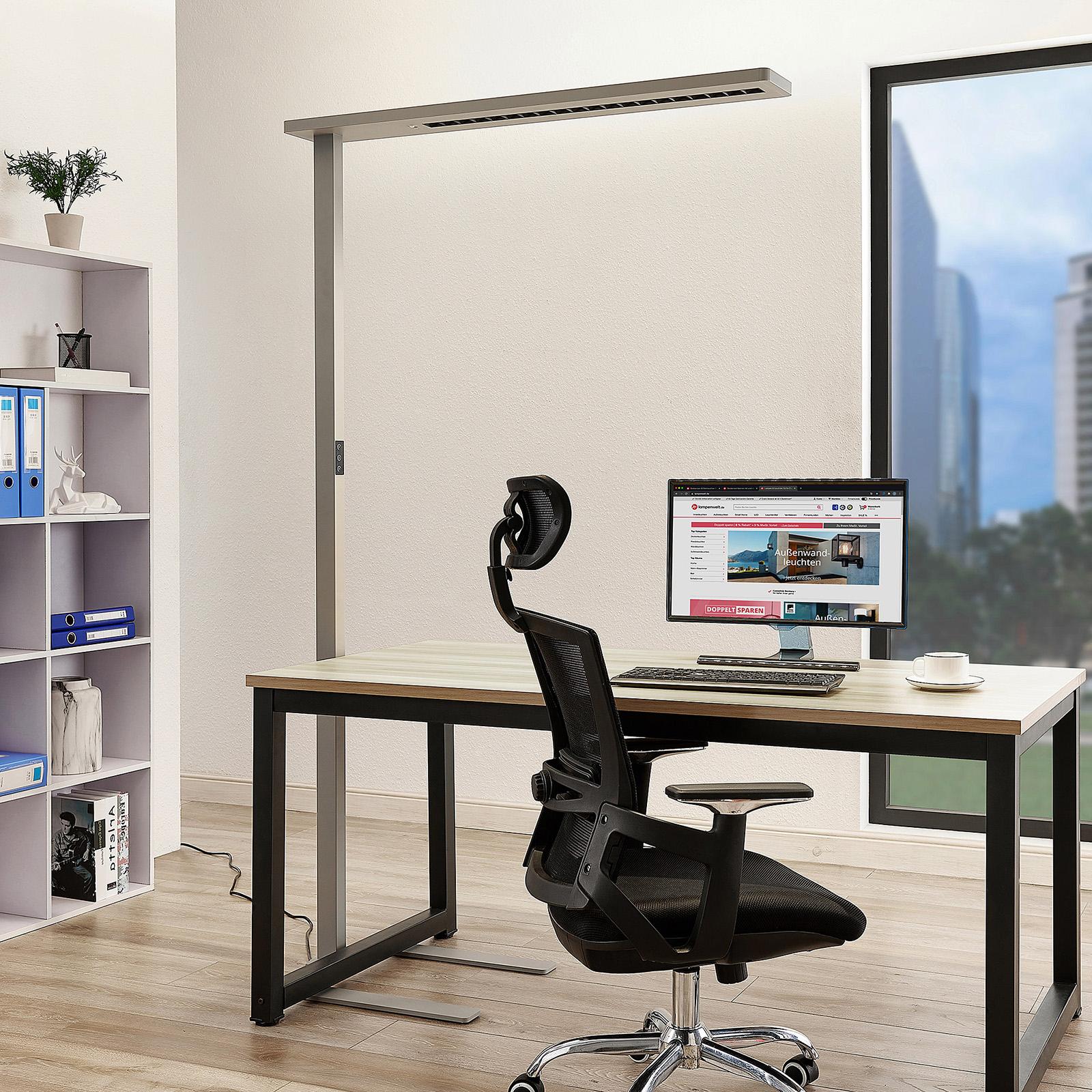 Arcchio Ionel lampa stojąca biurowa LED, czujnik