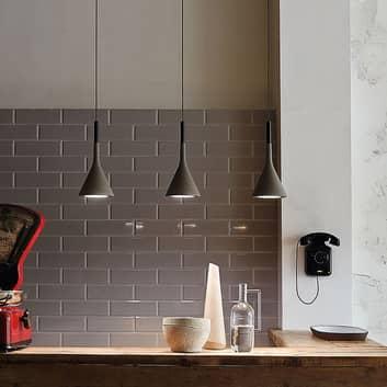 Foscarini Aplomb lampa wisząca z betonu, szara