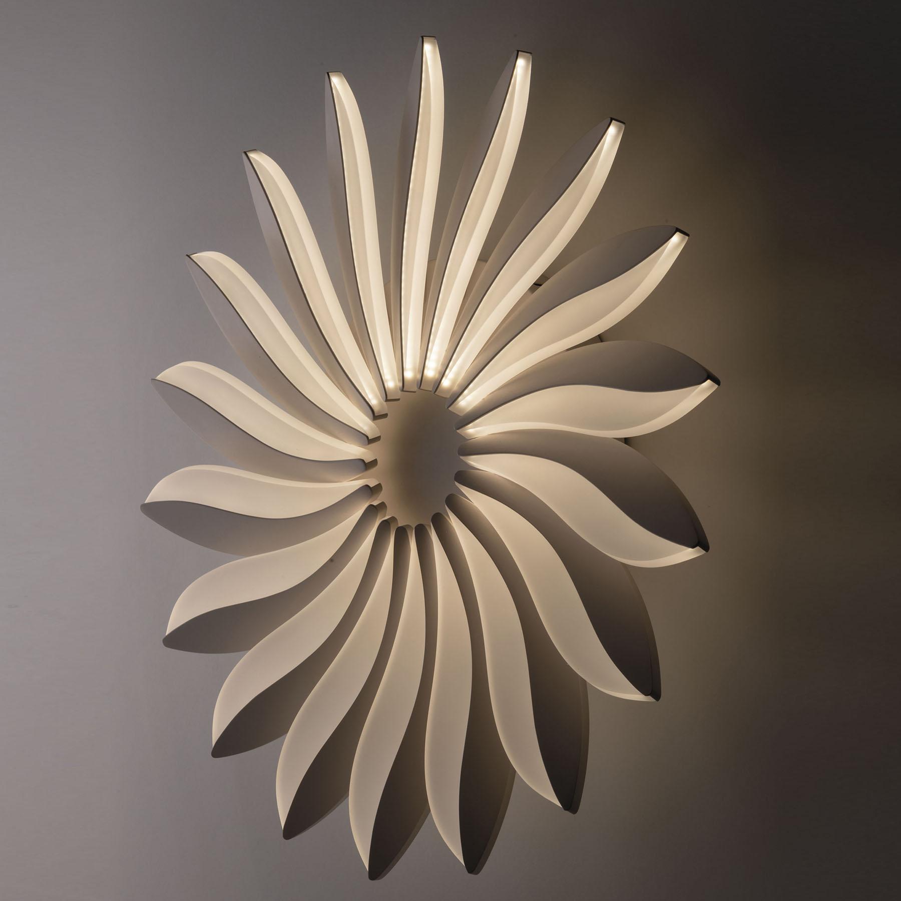LED wandlamp Sunrise, dimbaar, Ø 61,5 cm