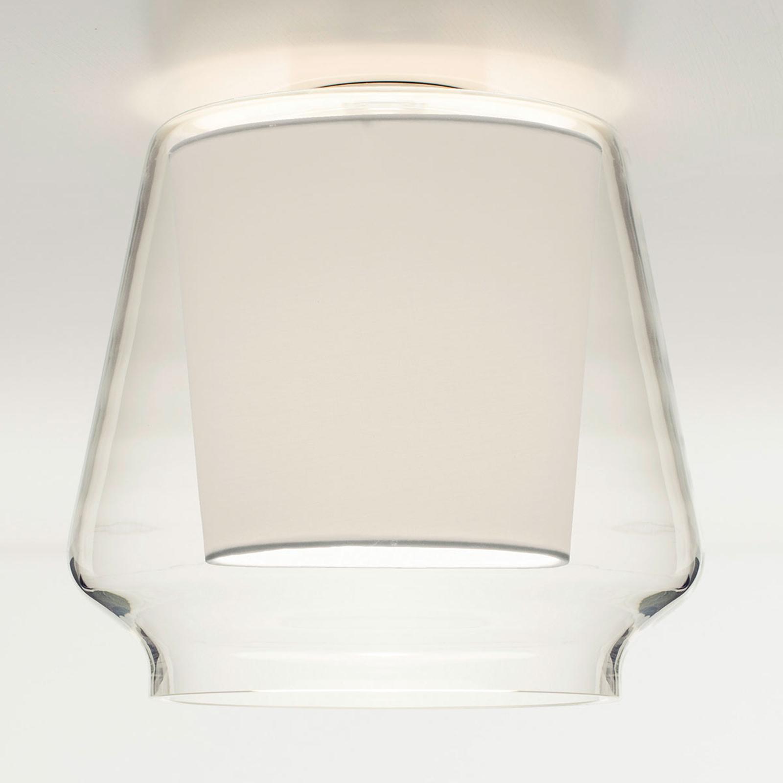 Casablanca Aleve lampa sufitowa, biała