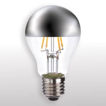 E27 4,5W 827 LED žárovka se zrcadlovou hlavou