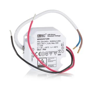 AcTEC Mini LED-drivare CV 24V, 12W, IP65