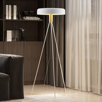 Lucande Filoreta vloerlamp in wit