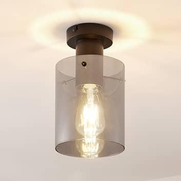 Lindby Kourtney taklampe med glasskjerm
