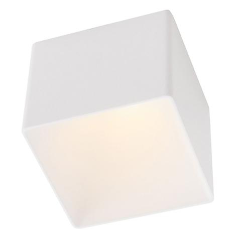 GF design Blocky Einbaulampe IP54 weiß