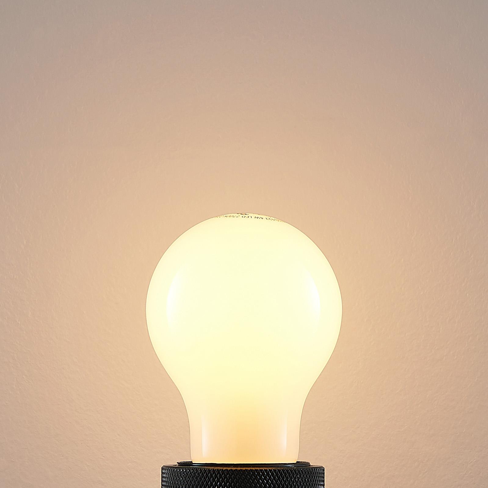 LED-pære E27 4W 2.700K kan dæmpes, opal