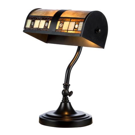 Lámpara de mesa KT4613 en diseño Tiffany