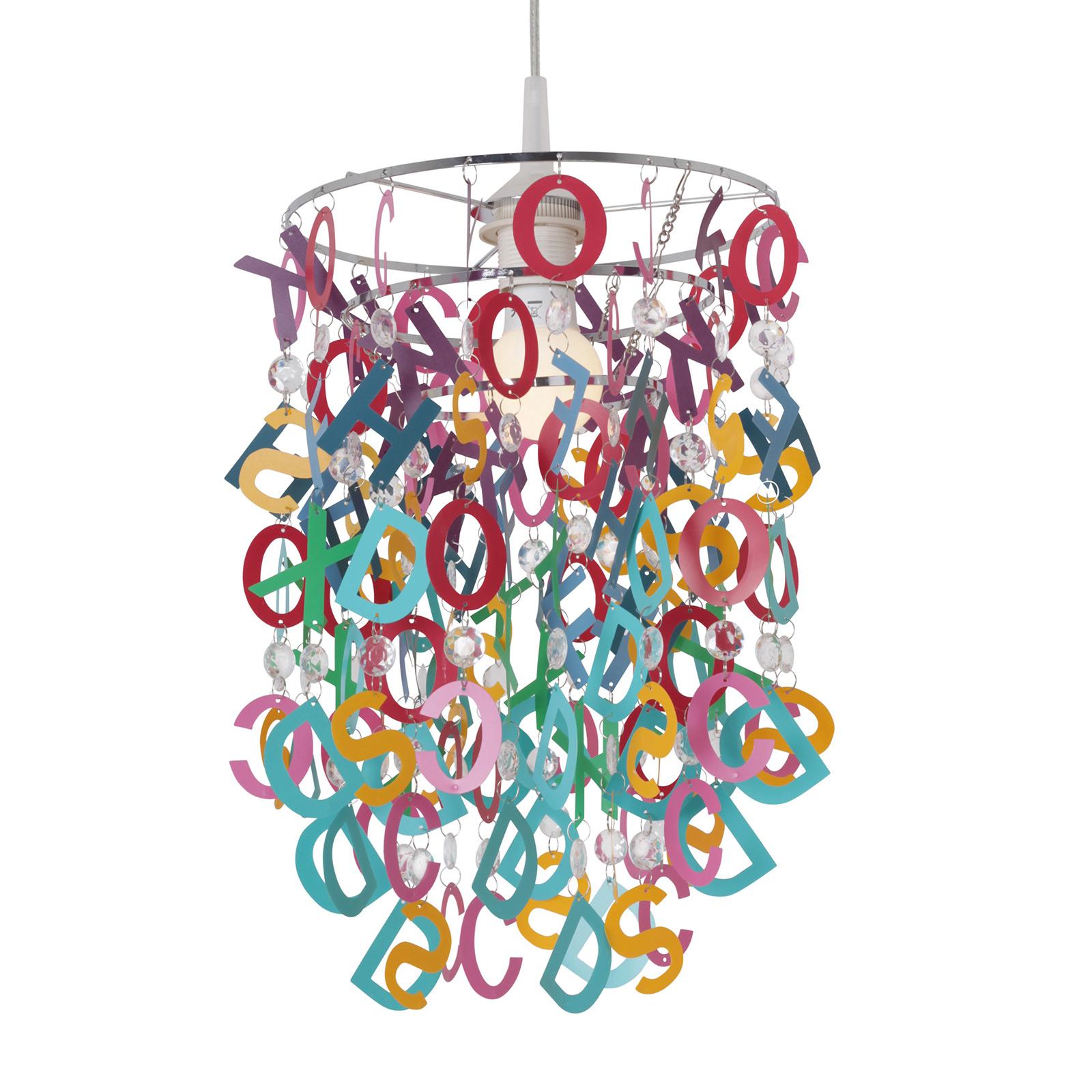 Hanglamp Letterly met pendelende letters