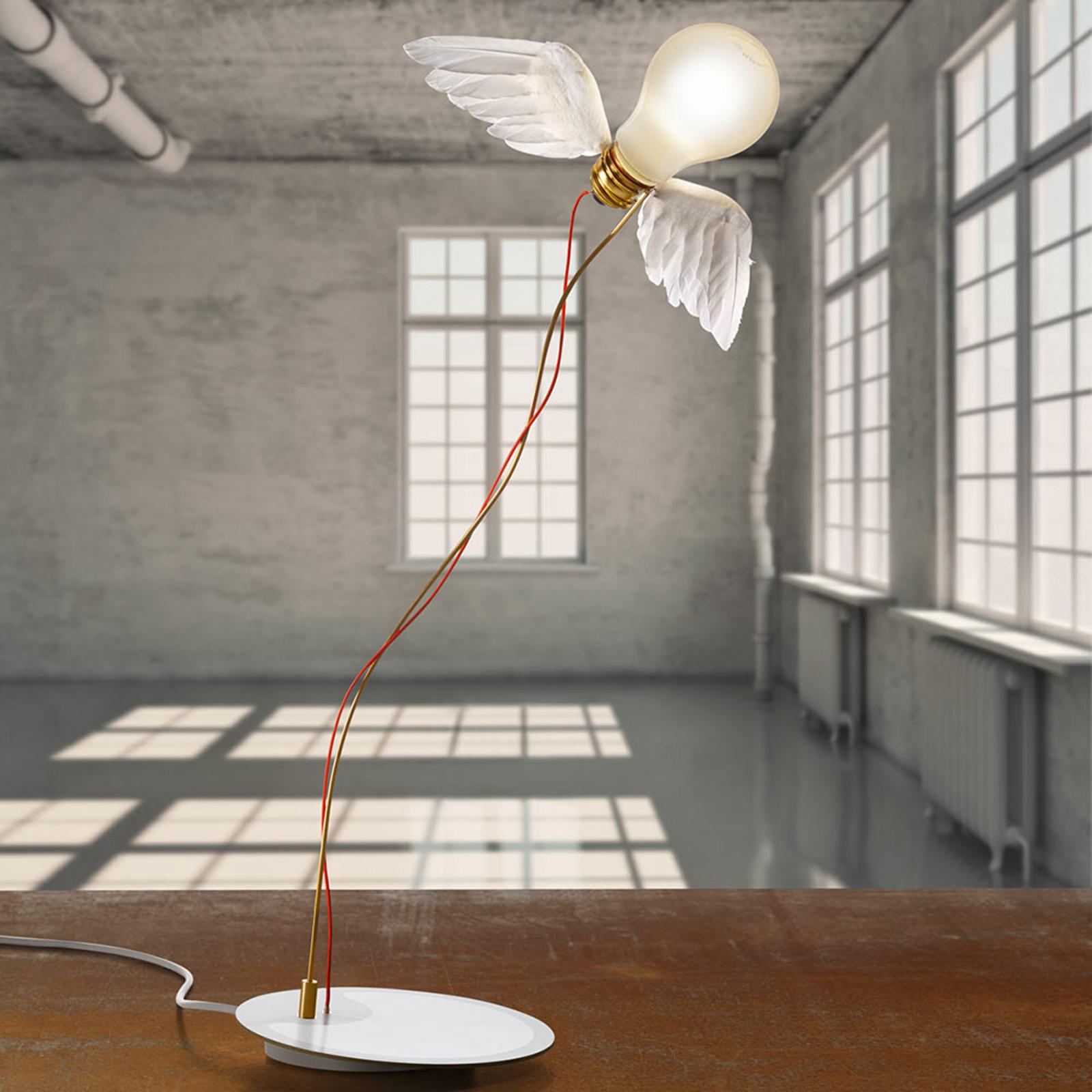 Lampe à poser LED de designer ailée Lucellino LED