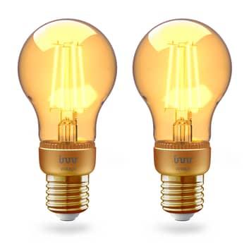 Innr LED E27 4,2W Smart Filam bianco caldo oro 2x
