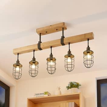 Lindby Serima taklampe, 5 lyskilder
