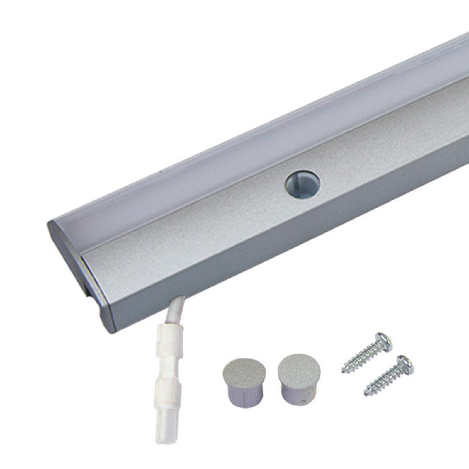 LED sous meuble Dynamic ModuLite F, alu, 60cm