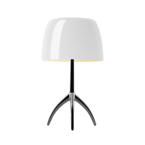 Foscarini Lumiere lámpara de mesa aluminio