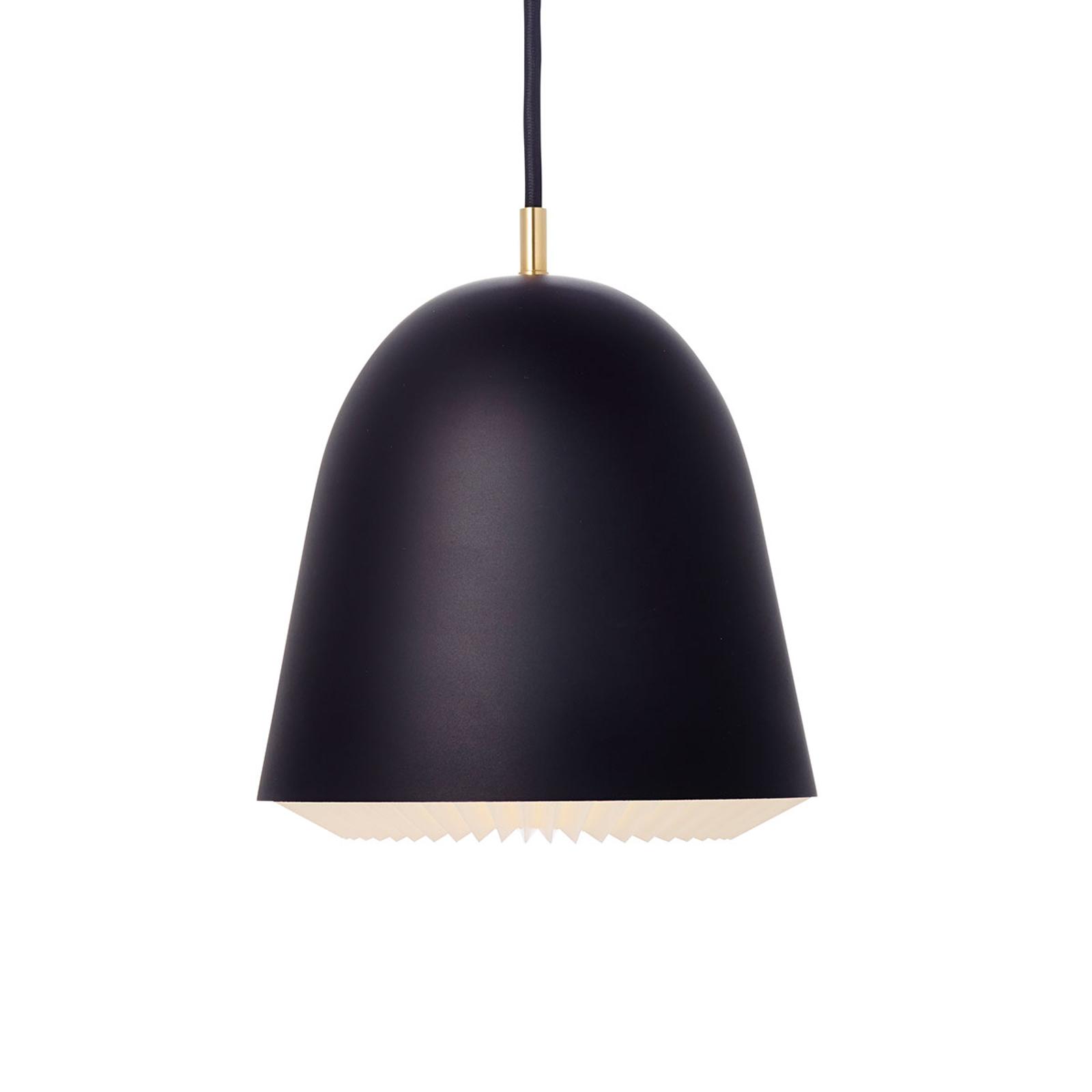 LE KLINT Caché - závěsné světlo, černé, 20 cm