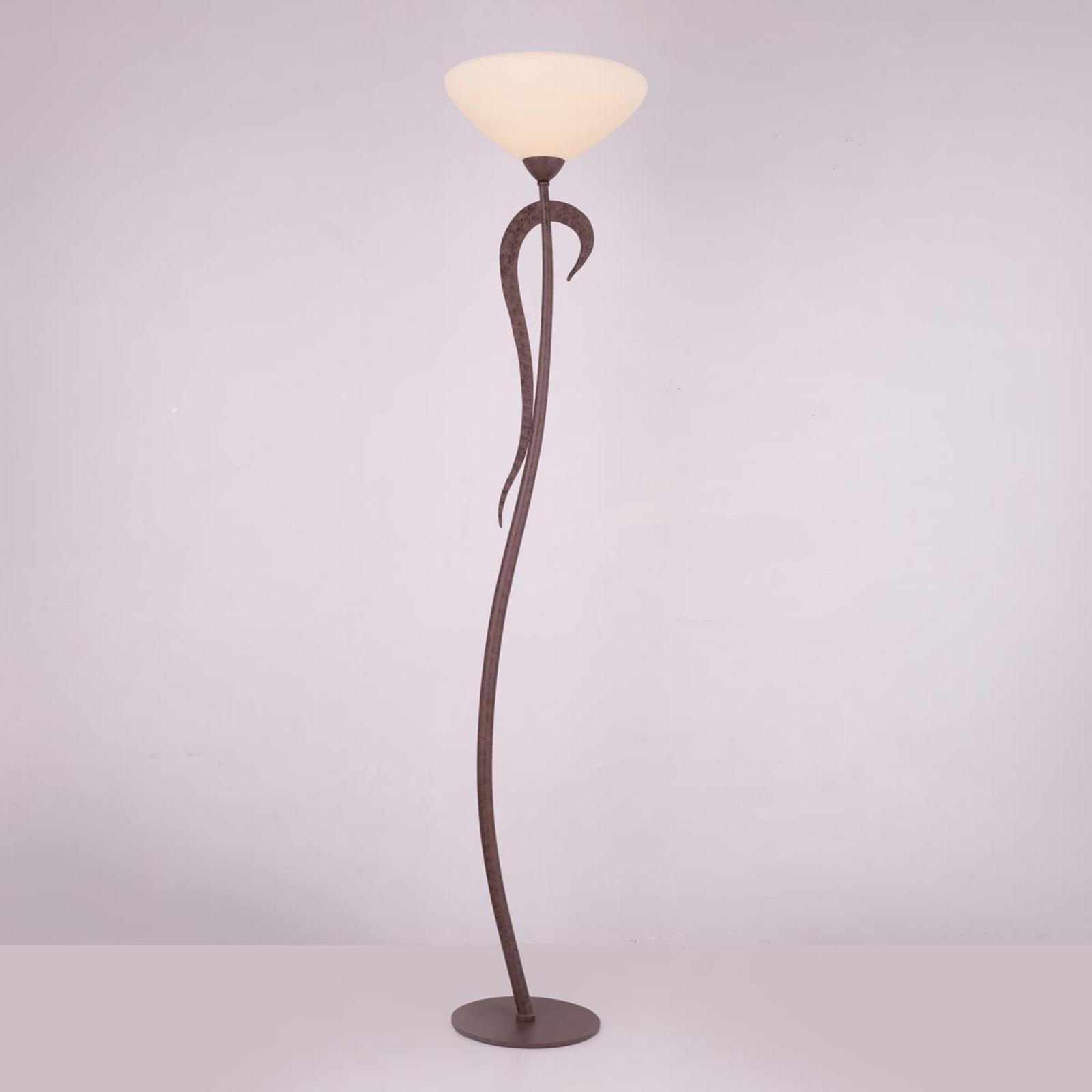 Lampa oświetlająca sufit Samuele, kremowa