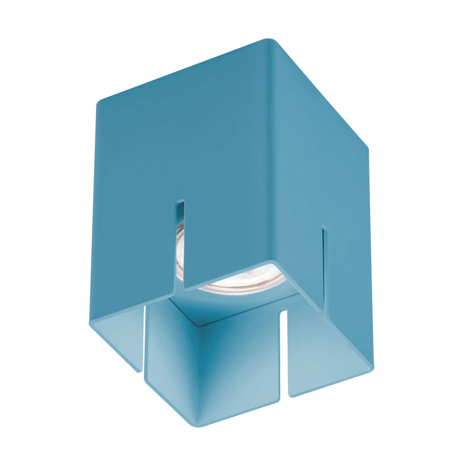 Baulmann 83.200 Deckenleuchte, blau, Höhe 10 cm
