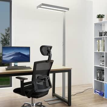 Arcchio Nelvana lampadaire à capteur LED, argenté