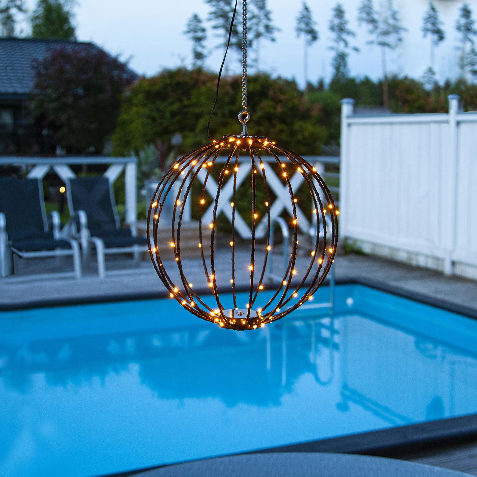 LED-Pendellampe Mounty Outdoor, Ø 30cm