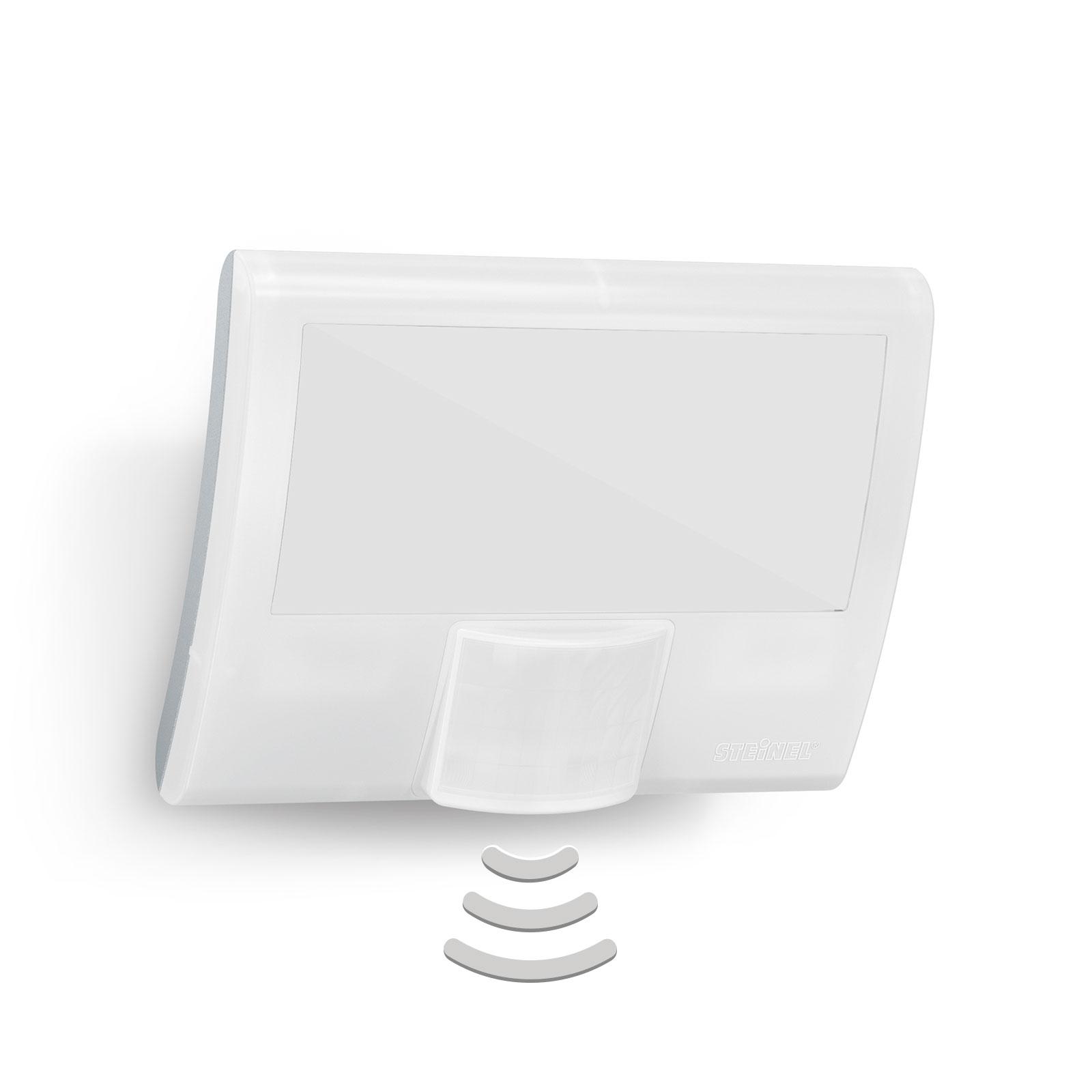 STEINEL XLED curved Sensor-Außenwandleuchte weiß