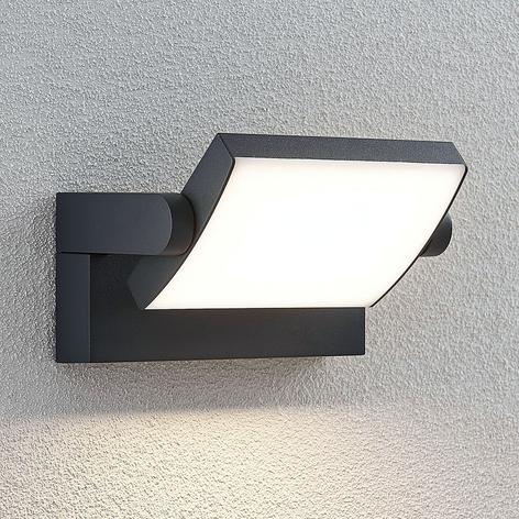 LED venkovní nástěnné svítidlo Sherin, otočné
