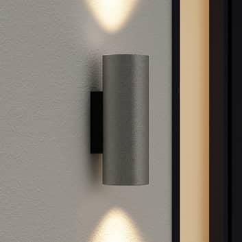 Arcchio Leiylen utendørs LED-vegglampe, sylinder