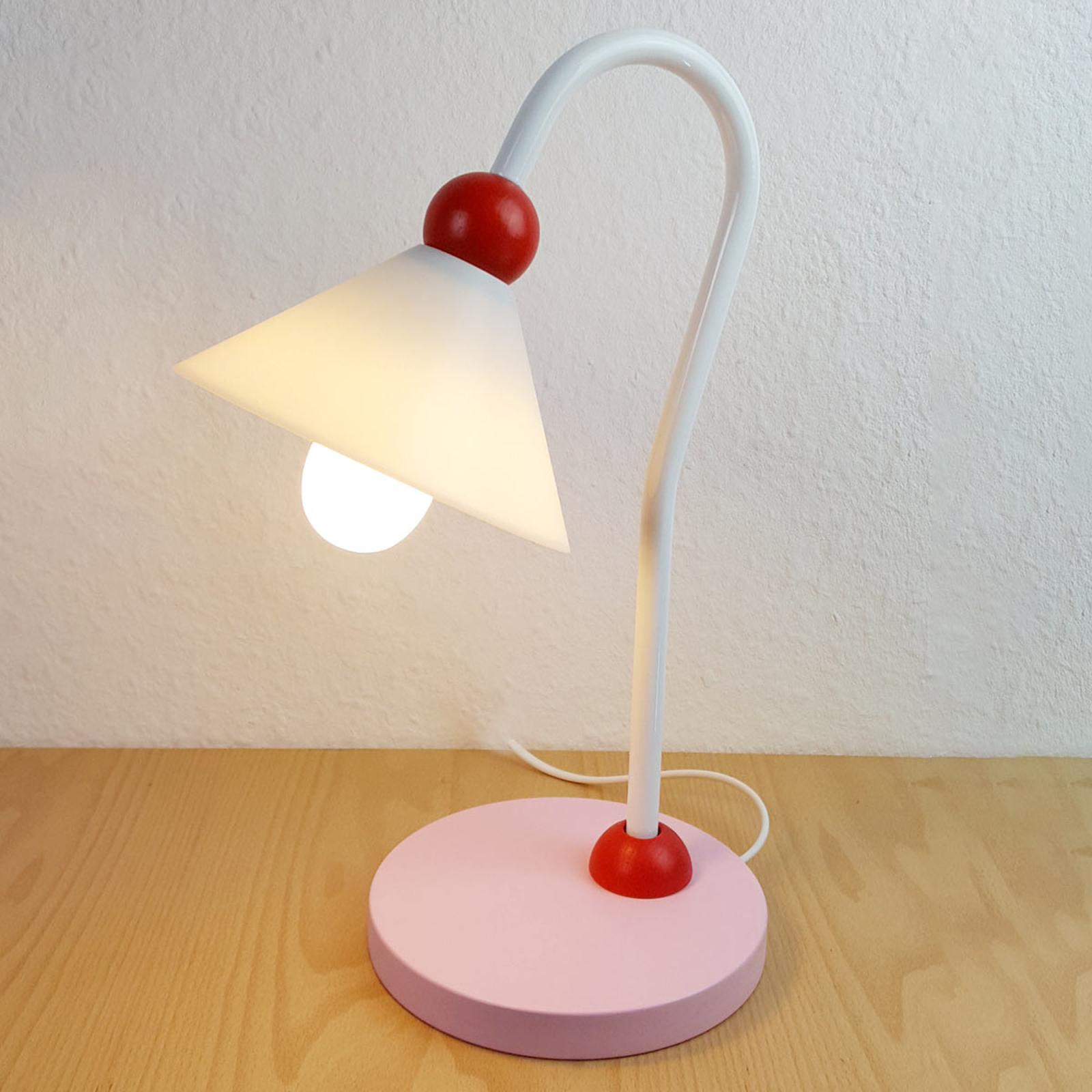 Produktové foto Niermann Standby Šarmantní stolní lampa na čtení Prinzessin, růžová