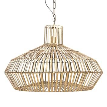 Hanglamp 623 met goudkleurig kooikap