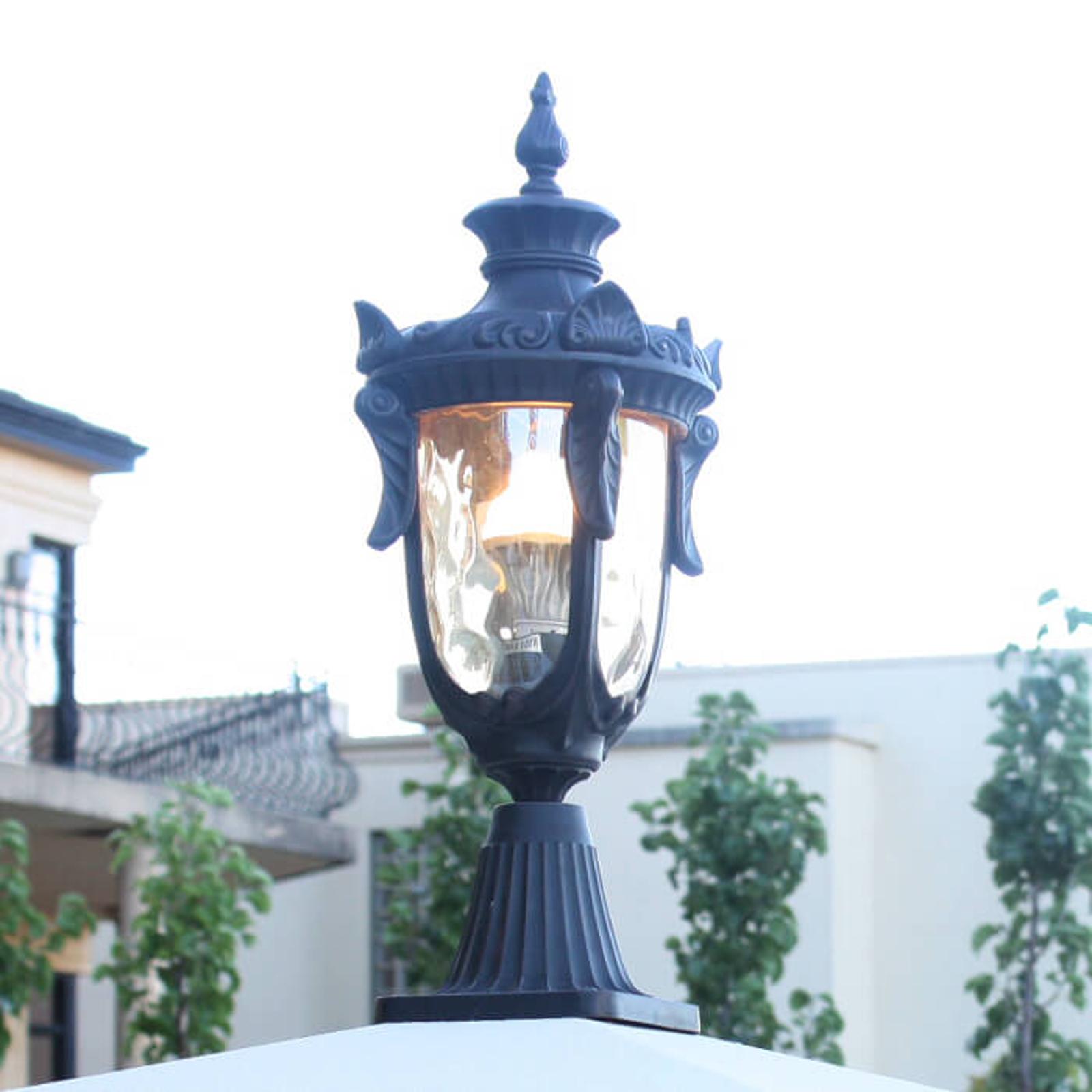 Lampa na cokół PHILADELPHIA w historycznym stylu