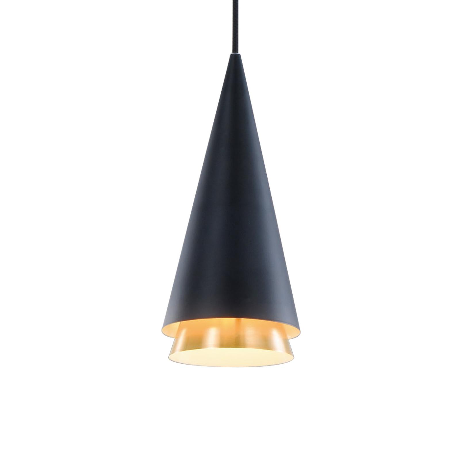 Lucande Naoh hængelampe, 1 lyskilde, sort