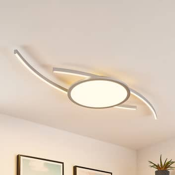 Lucande Tiaro plafón LED, redondo, CCT
