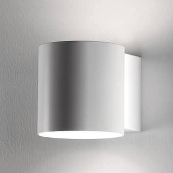 Martinelli Luce Tube wandlamp, metalen kap 10 cm