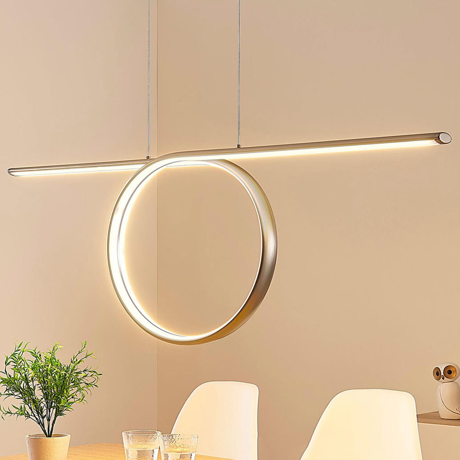 LED-Pendelleuchte Tani, loopförmig