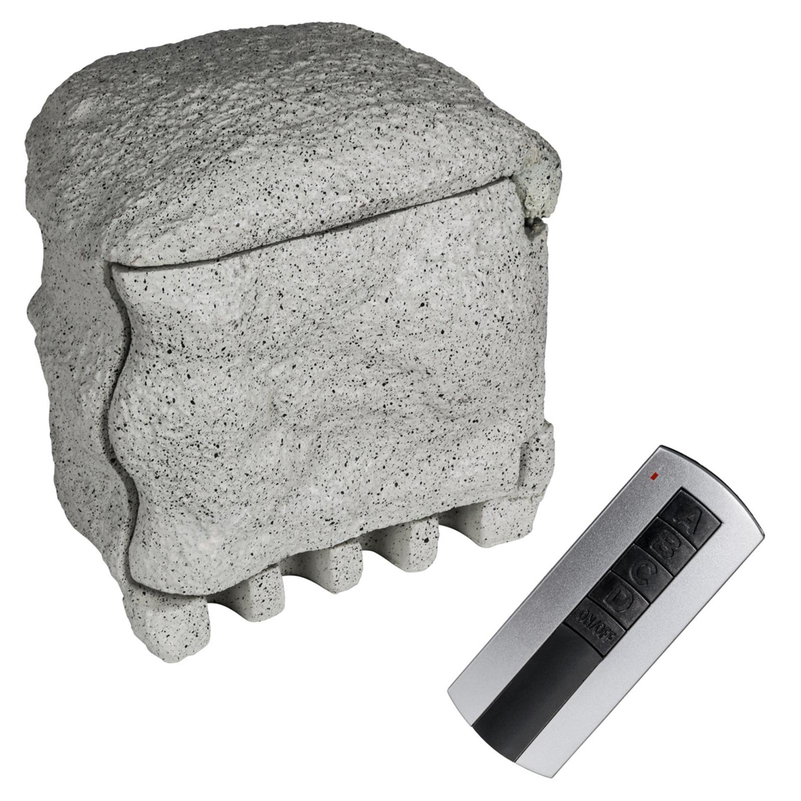 Med fjernbetjening - strømfordeler Piedra