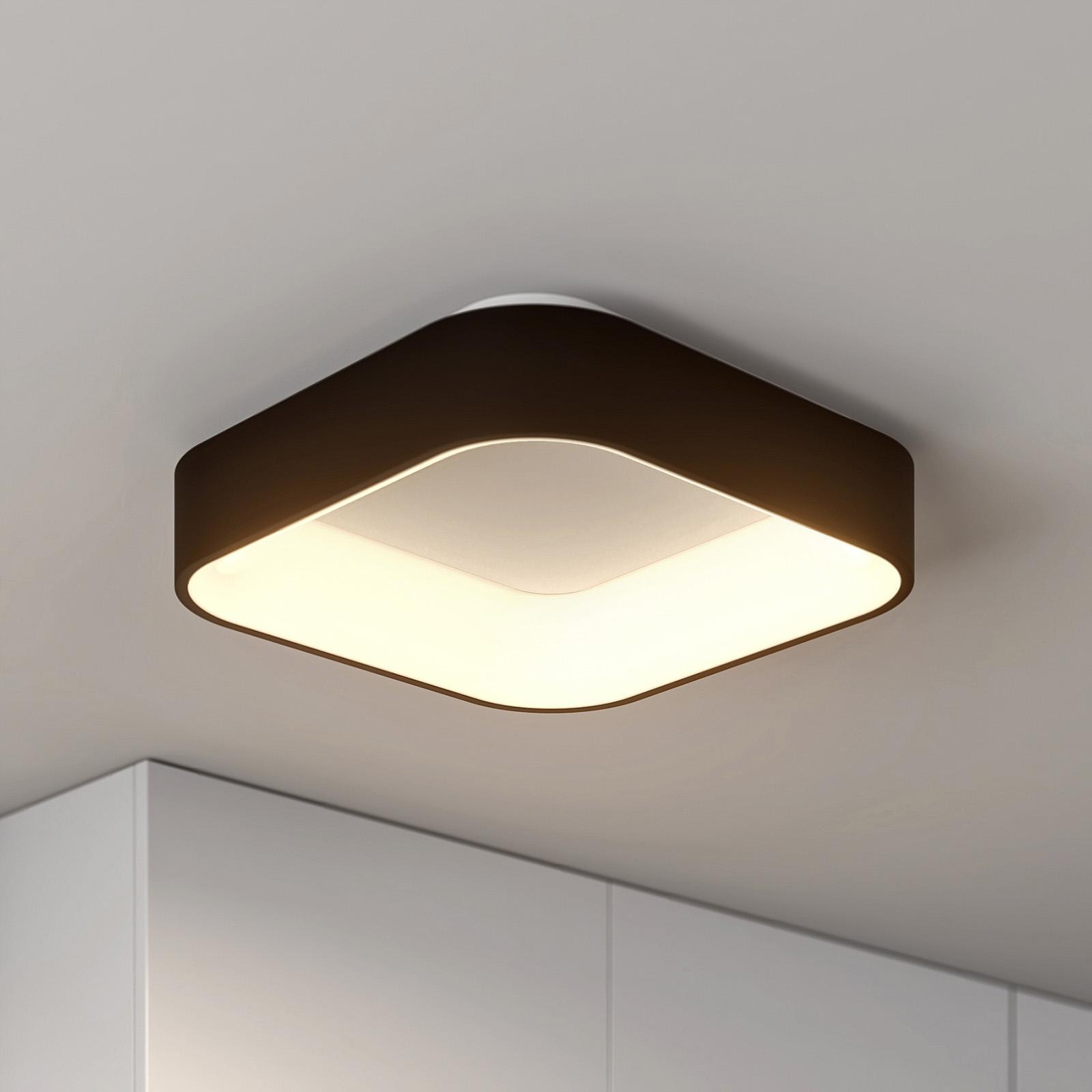 Arcchio Aleksi LED-taklampe, 45 cm, kantet