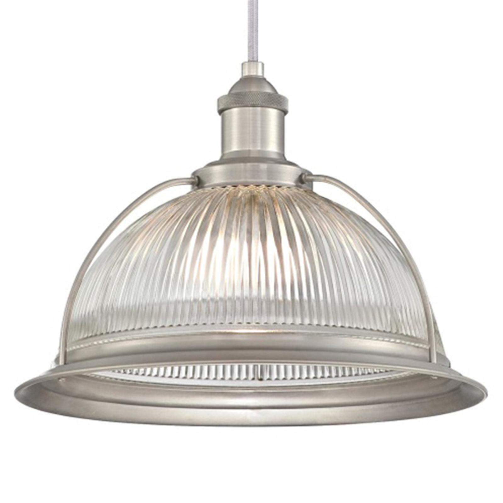 Westinghouse 6338740 hanglamp, glas, nikkel