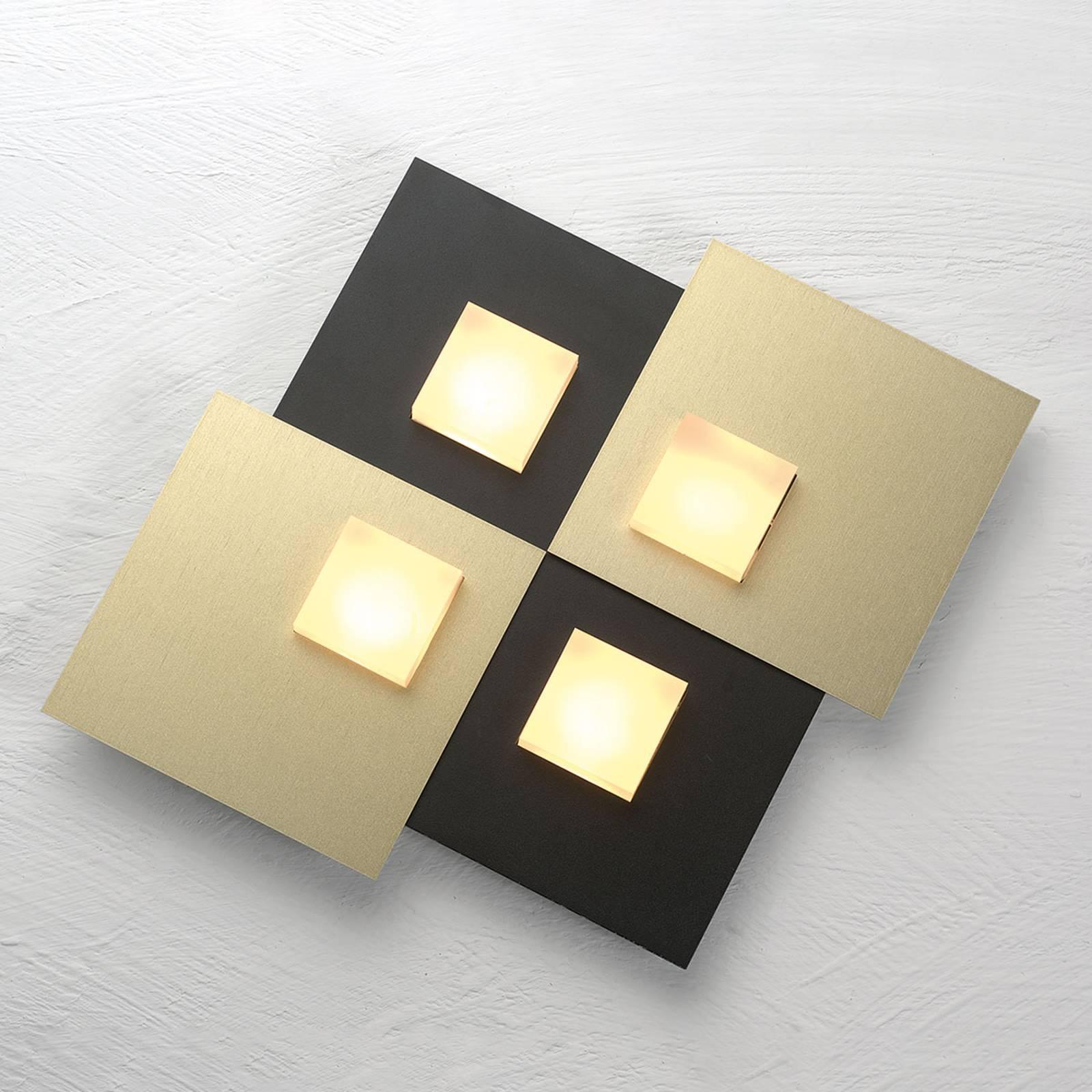 Bopp Pixel 2.0 lampa sufitowa LED 4-pkt. czarna
