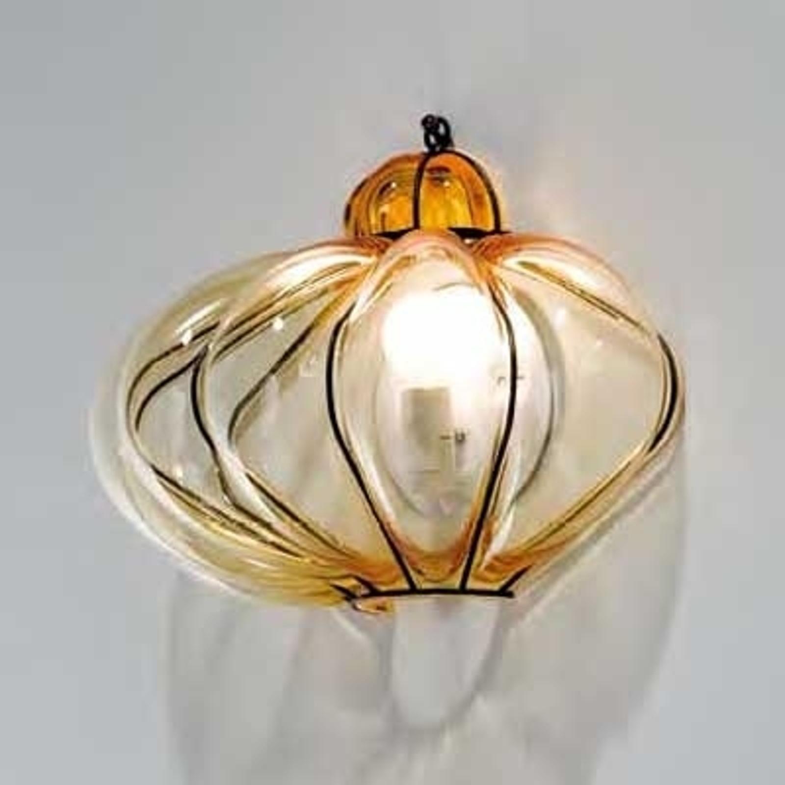 Vegglampe SULTANO i Muranoglass, 29 cm