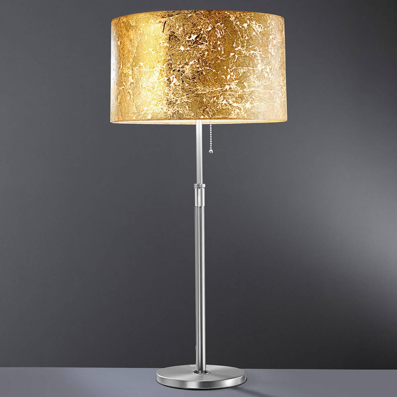 Loop - tafellamp met bladgoud