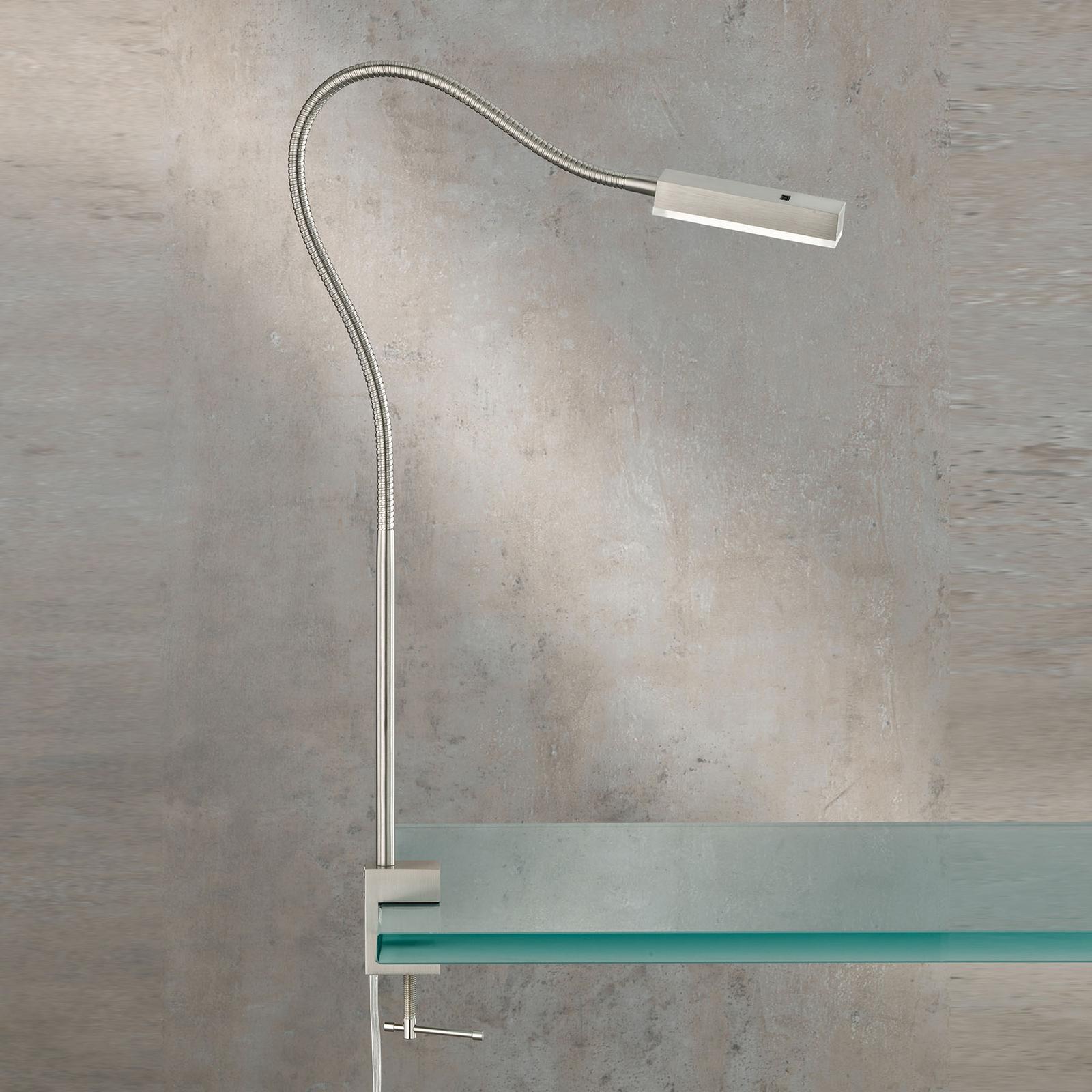 LED-klämlampa Raik med geststyrning, 60 cm