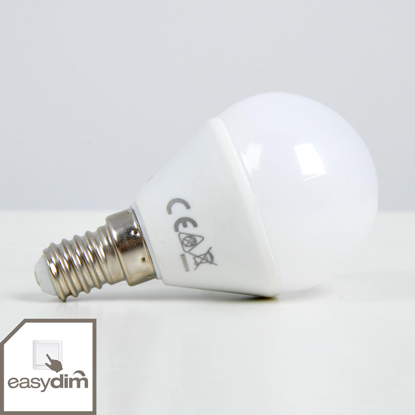 Easydim LED-dråbepære, E14 5W 830