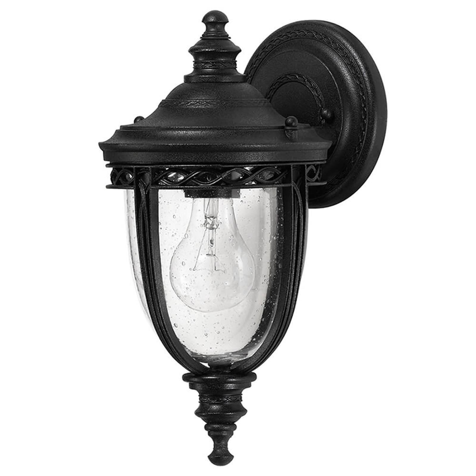 Venkovní lucerna English Bridle Ø 16,5 cm černá