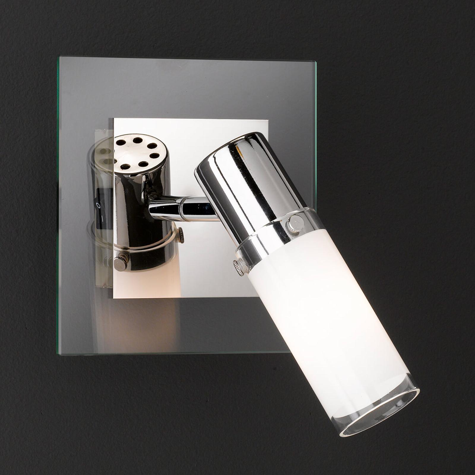 Reflektor ścienny MARCO ze szklanym kloszem