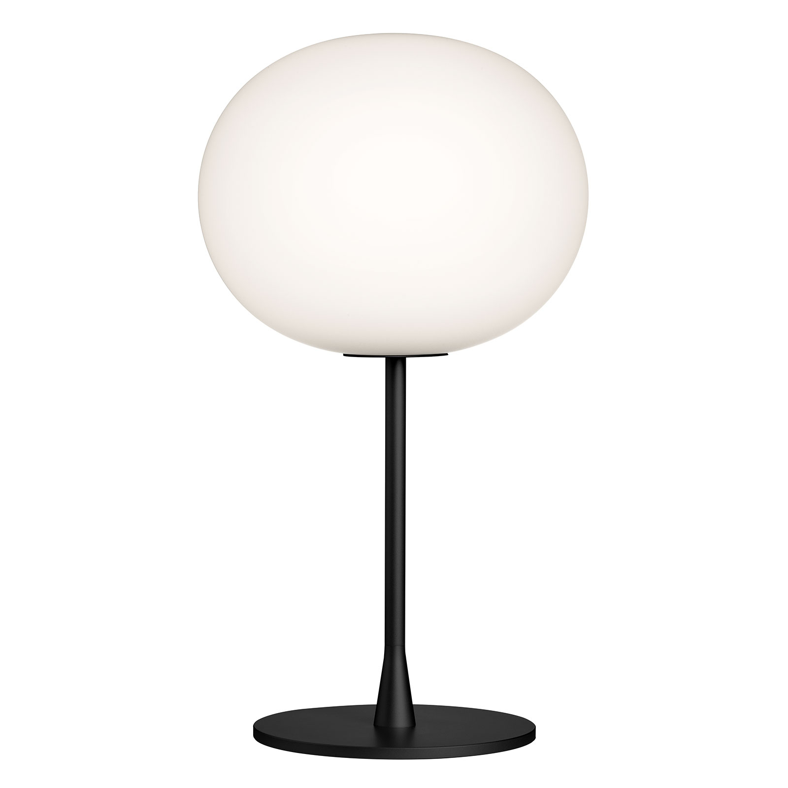 FLOS Glo-Ball T1 tafellamp, zwart