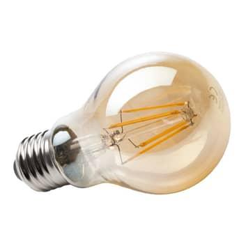 E27 4W 820 LED vláknová žárovka zlatá