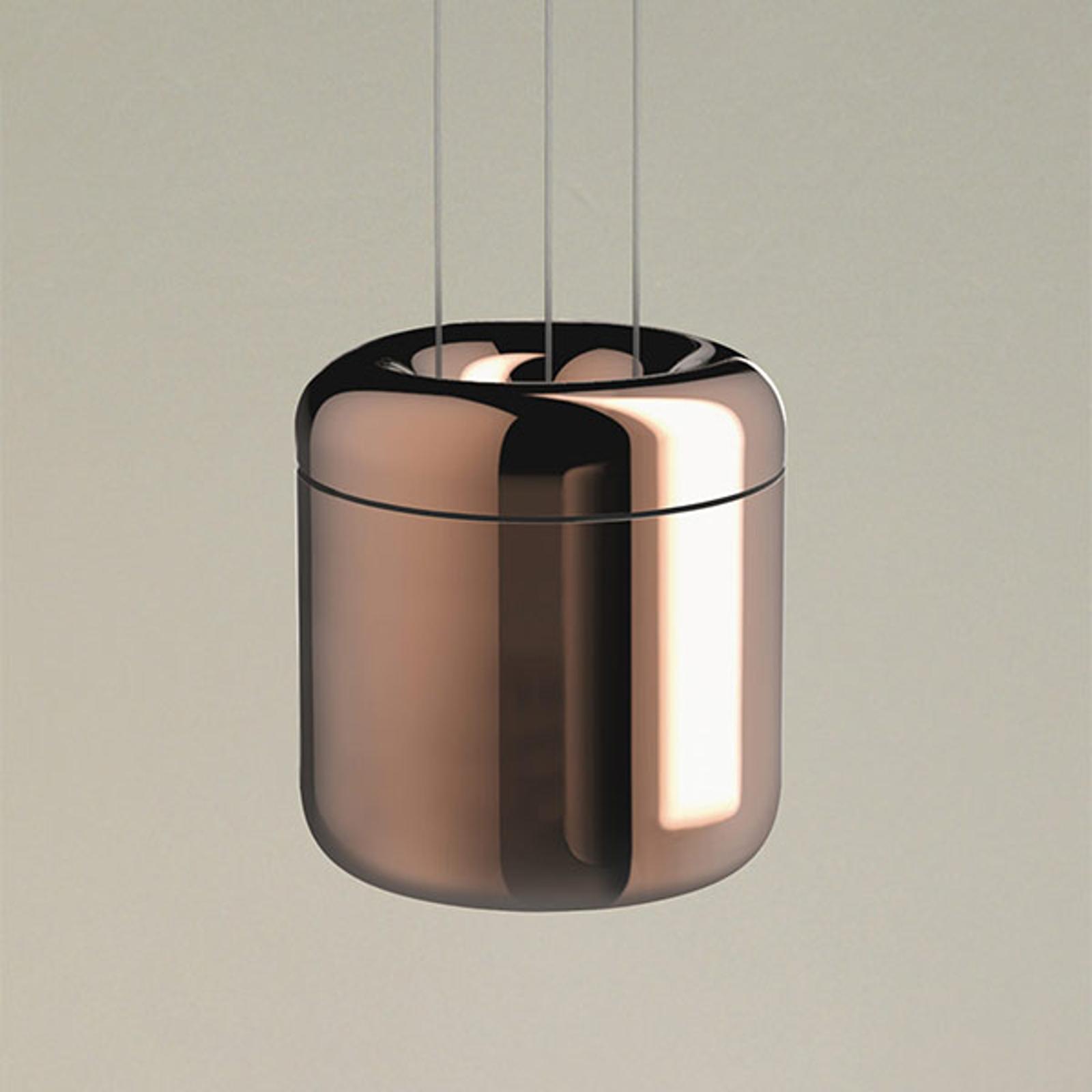 serien.lighting Cavity Suspension S, bronzo