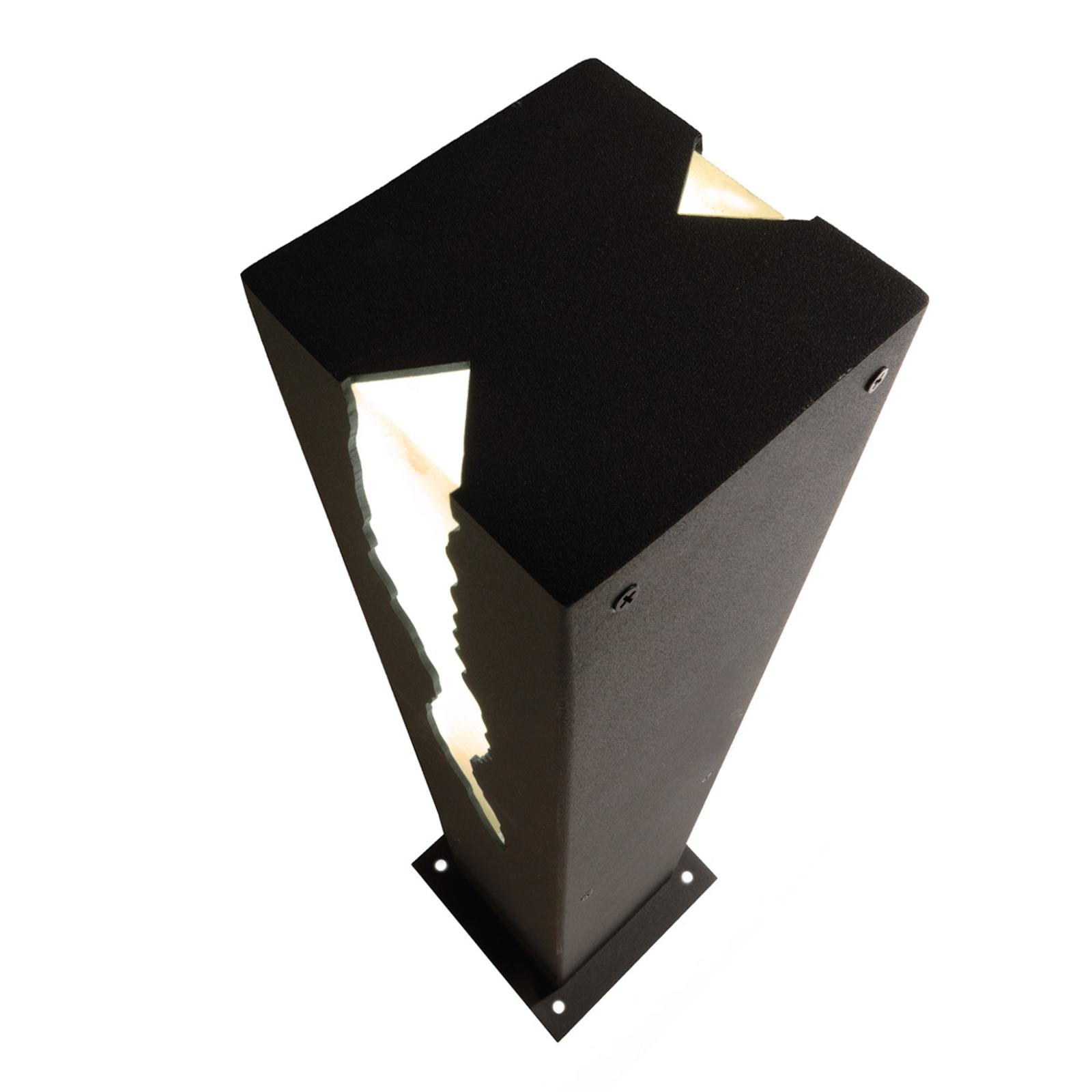 Soklové LED svietidlo El Rayo dvojstranný výstup