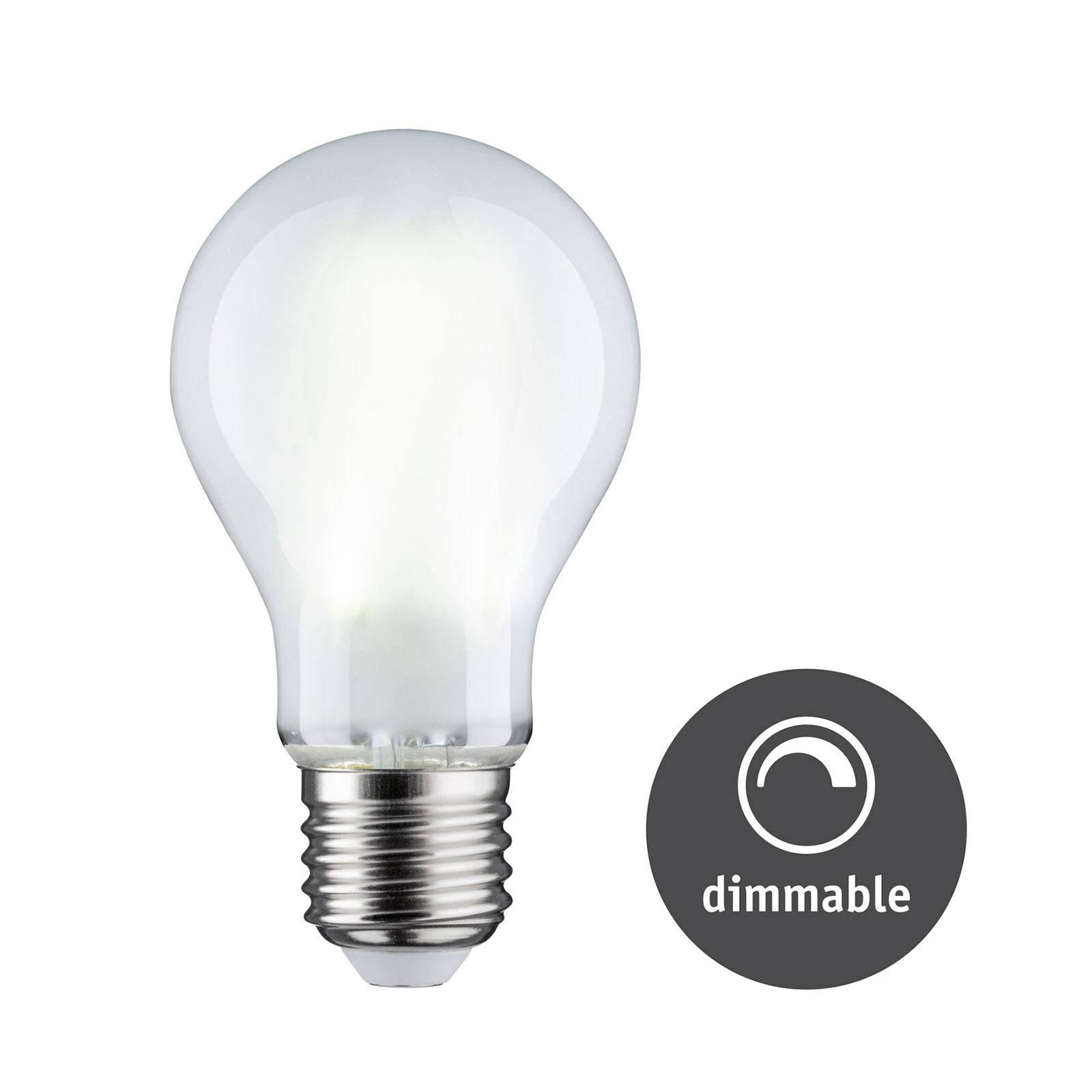 Paulmann LED-lampa E27 9W 6500 K matt dimbar
