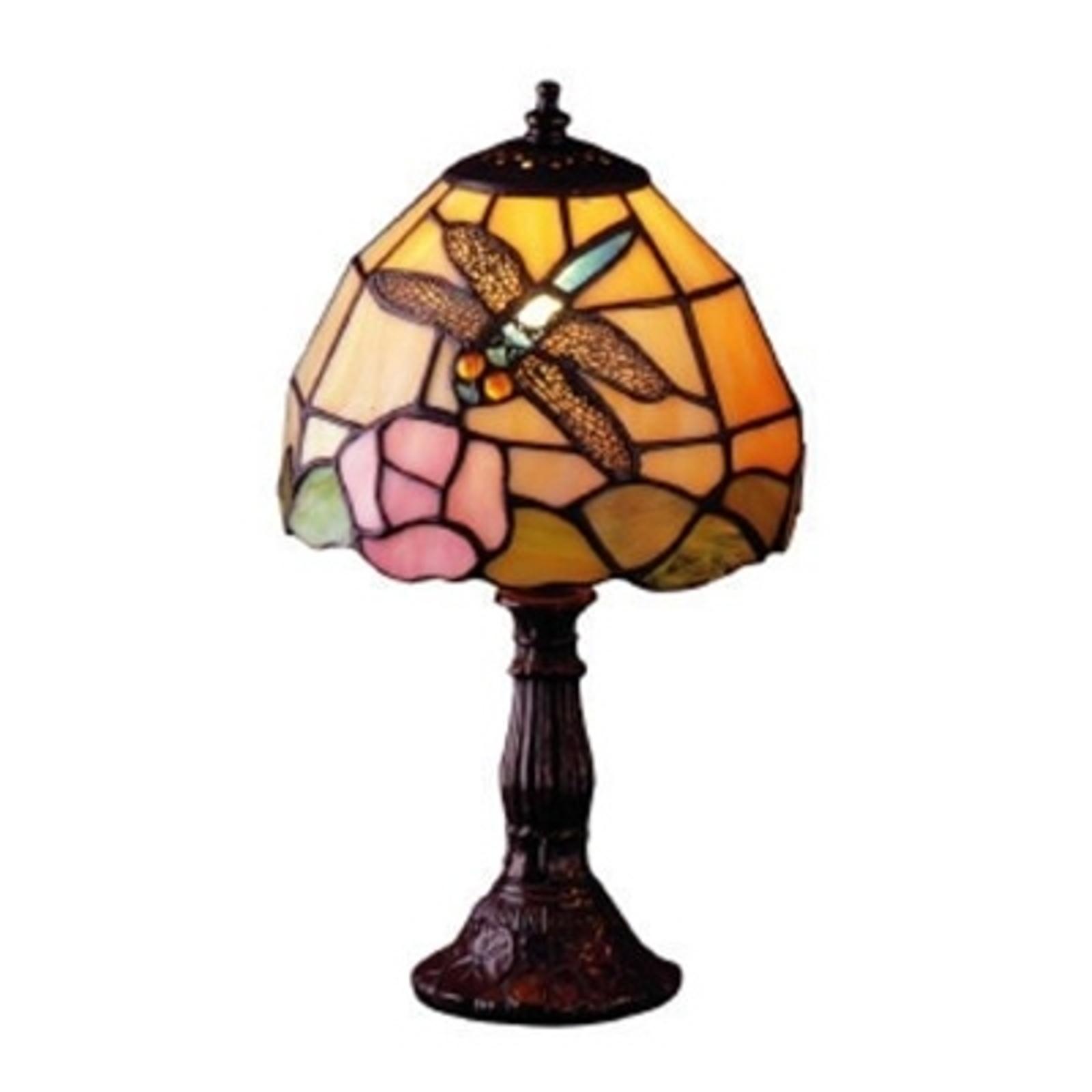 Lampa stołowa JANNEKE w stylu Tiffany